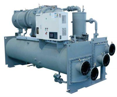 南海日立螺杆式冷水机组维修