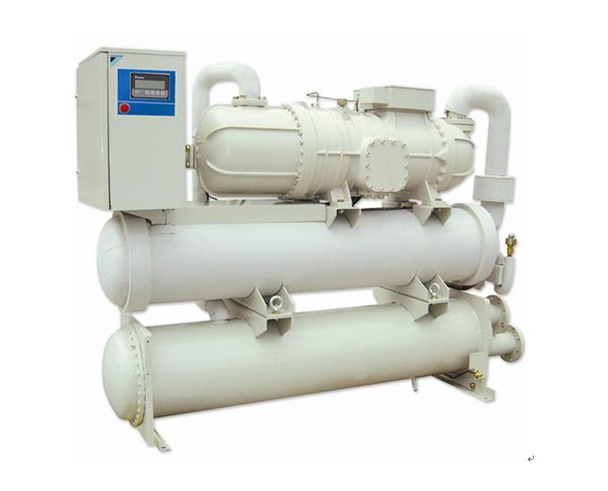 大金单螺杆冷水机组; 大金单螺杆水冷式冷水机组cuwd系列-r134a冷媒